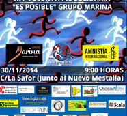 XIV Vuelta a pie solidaria Es Posible, del Circuito Divina Pastora