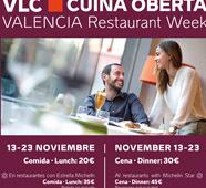 Cuina Oberta 2014: una ocasión única para probar los menús degustación de restaurantes en Valencia